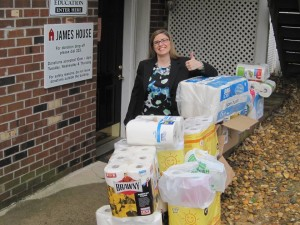 Collected items for James House ODC 2015
